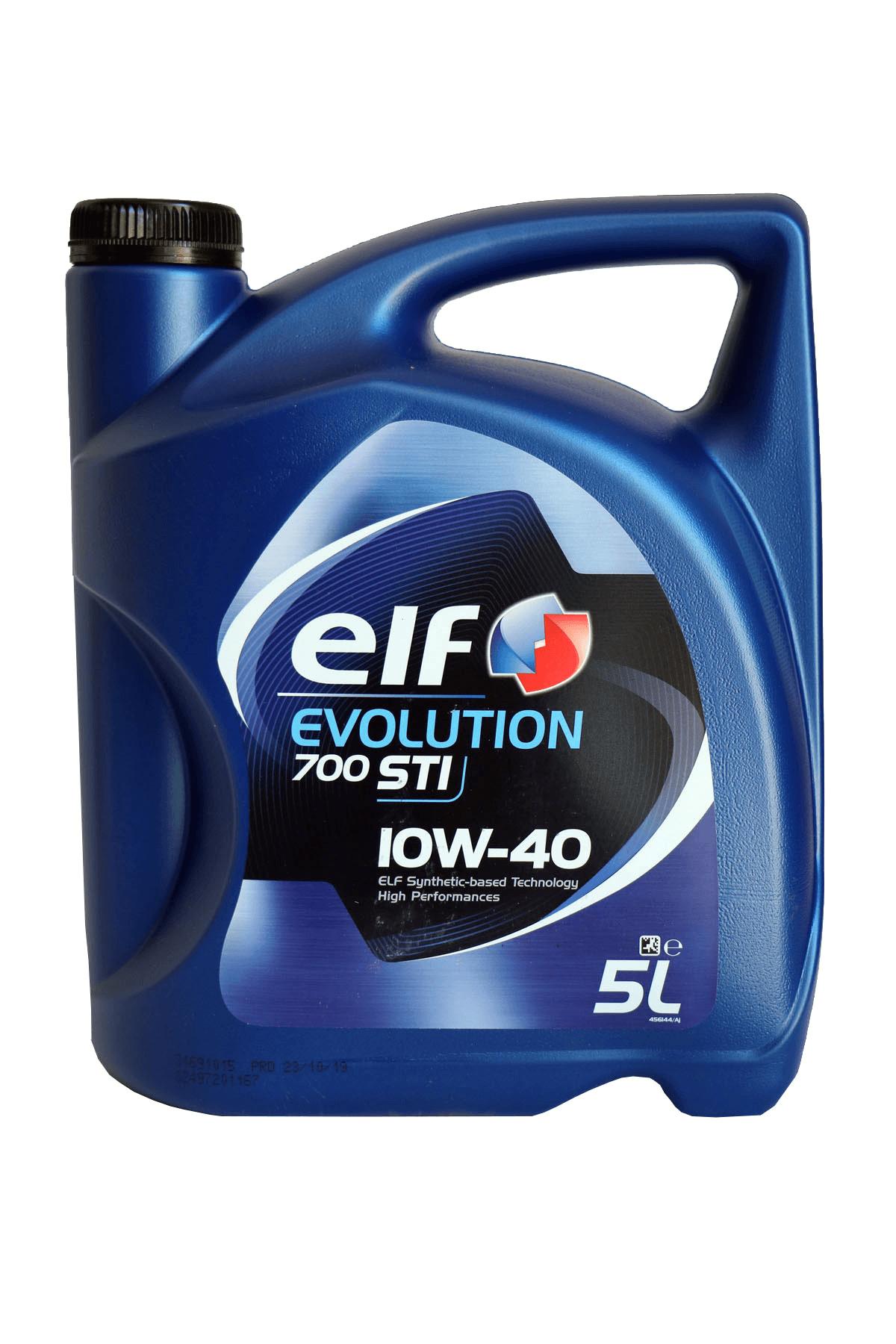 ELF Evolution 700 STI 10W-40 Motoröl, 5l