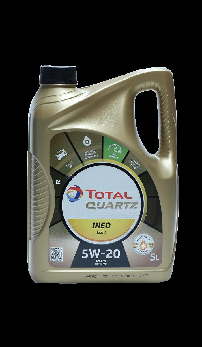 Total Quartz INEO EcoB 5W-20 Motoröl, 5l