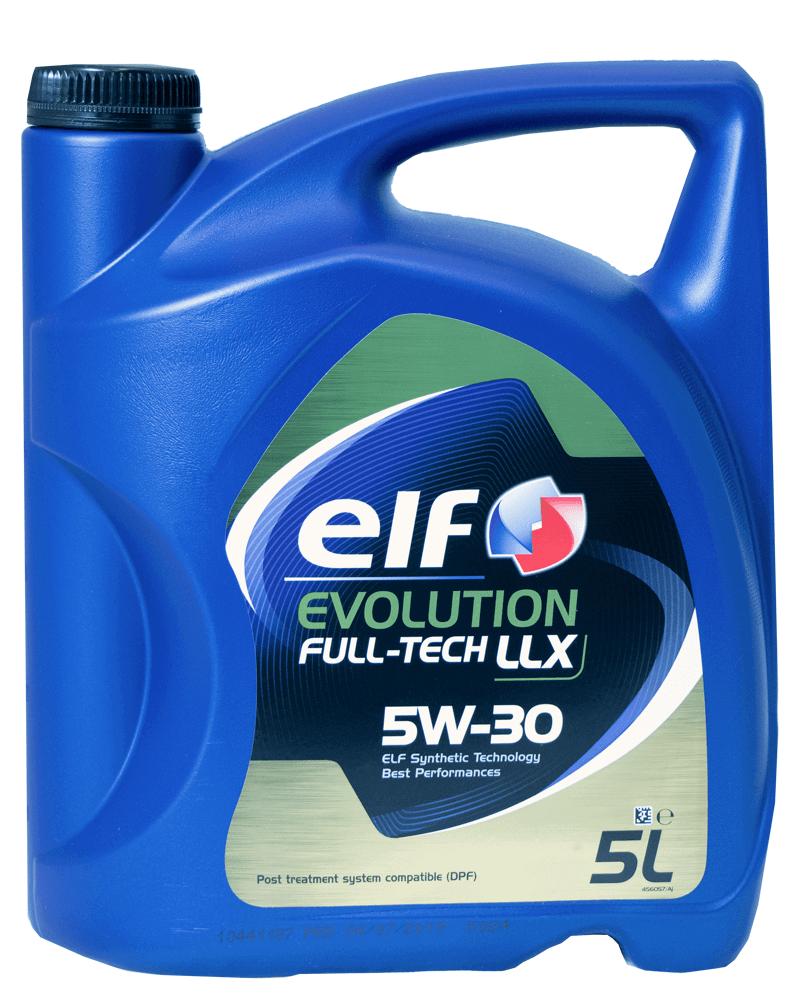 ELF Evolution Full-Tech LLX 5W-30 Motoröl, 5l