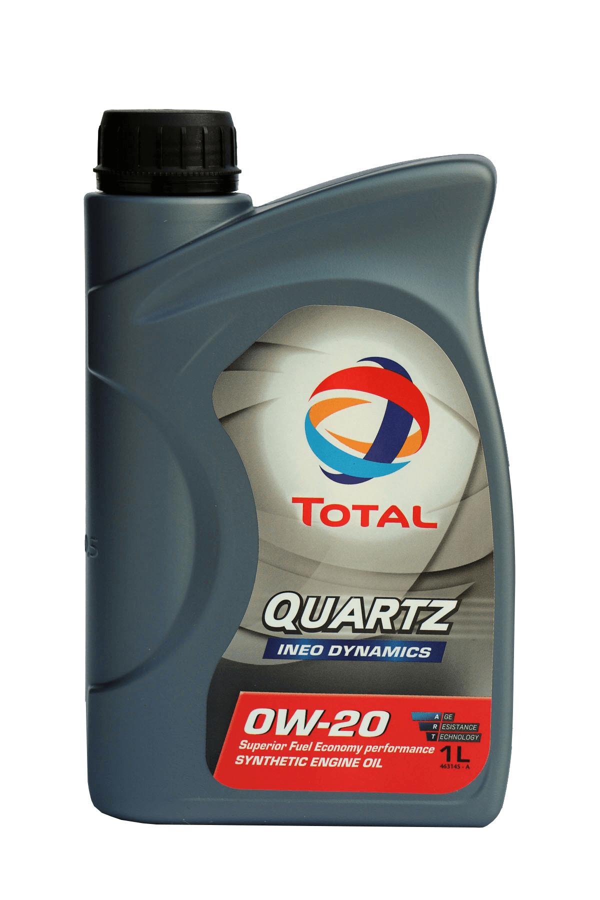 Total Quartz INEO DYNAMICS 0W-20 Motoröl, 1l
