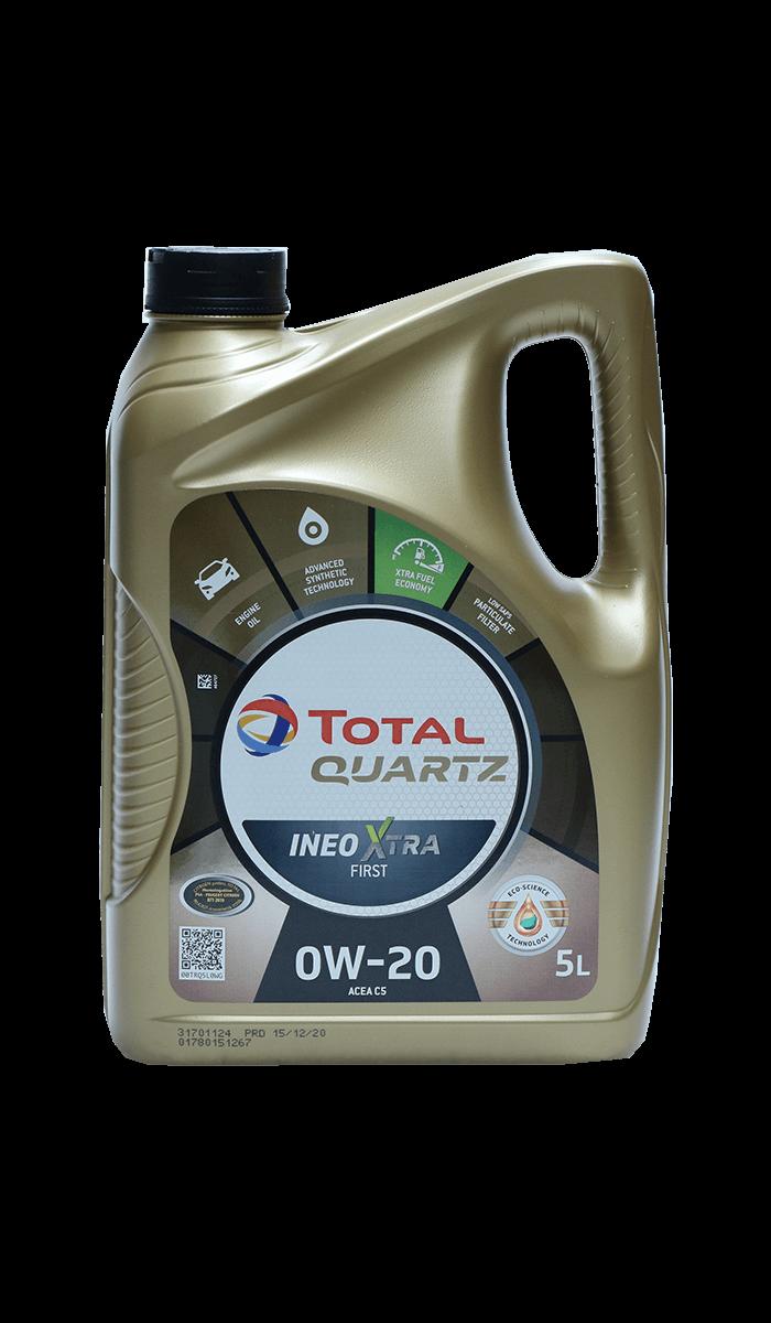 Total Quartz INEO XTRA FIRST 0W-20 Motoröl, 5l