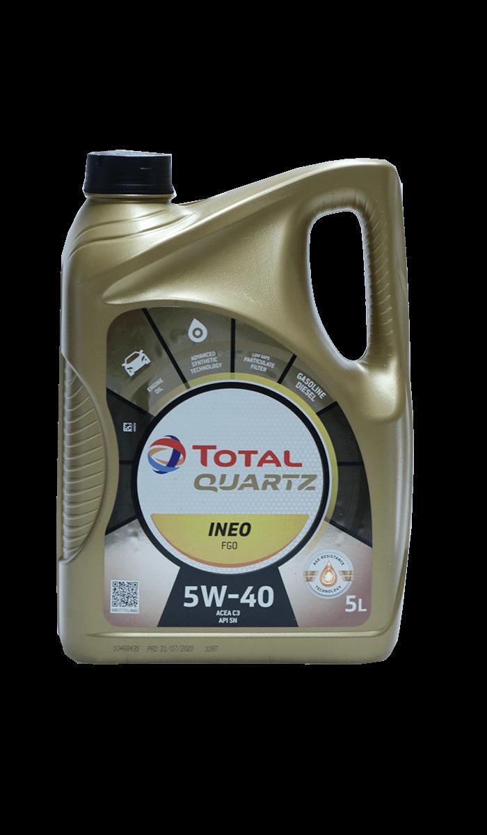 Total Quartz INEO FGO 5W-40 Motoröl, 5l