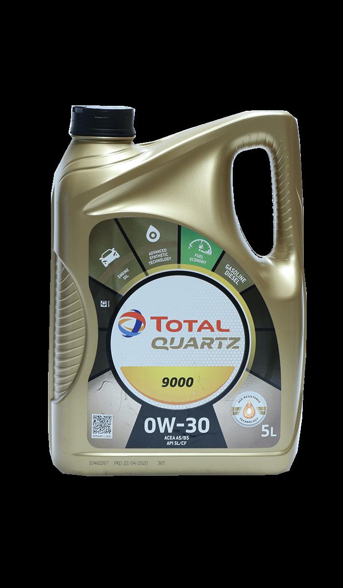 Total Quartz 9000 0W-30 Motoröl, 5l