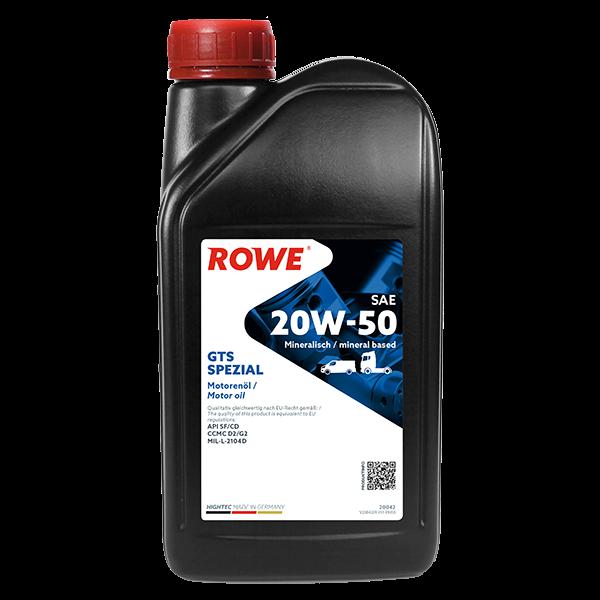 Rowe Hightec GTS SPEZIAL SAE 20W-50 Motoröl, 1l