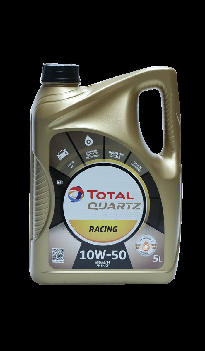 Total Quartz RACING 10W-50 Motoröl, 5l