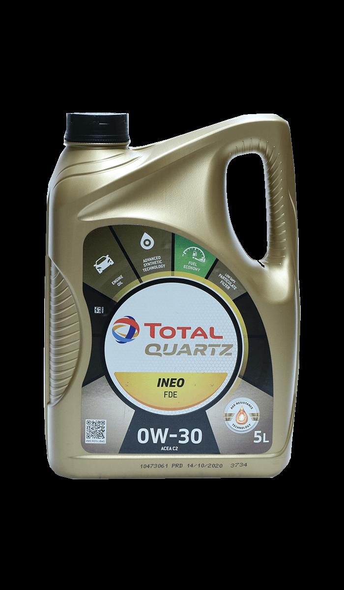 Total Quartz INEO FDE 0W-30 Motoröl, 5l