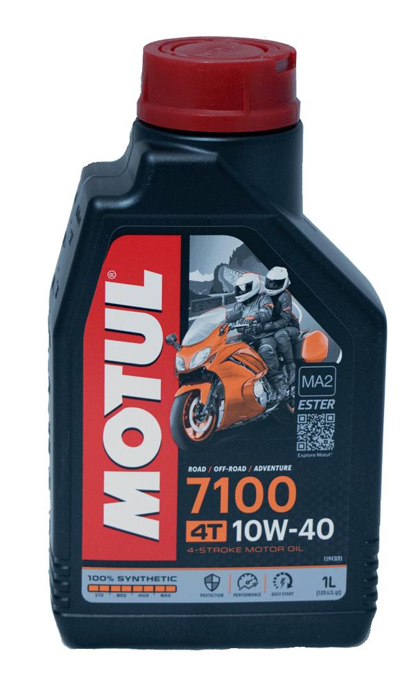 Motul 7100 Ester 10W-40 Motorrad Motoröl 1l