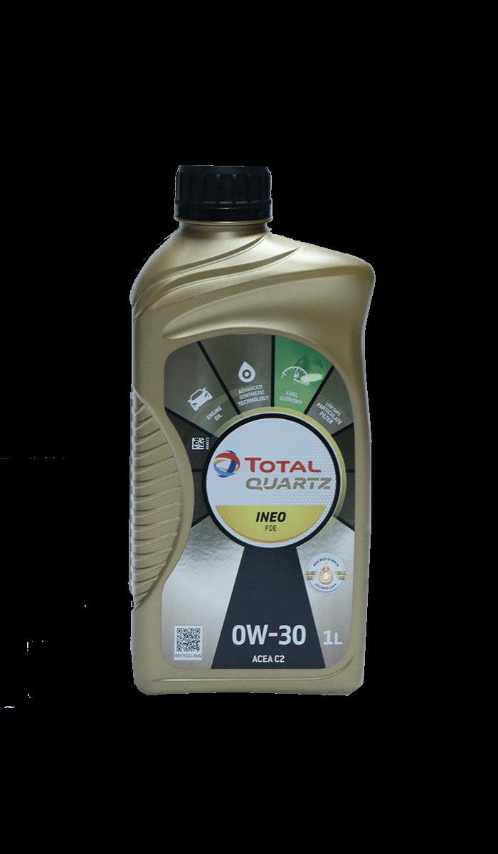 Total Quartz INEO FDE 0W-30 Motoröl, 1l
