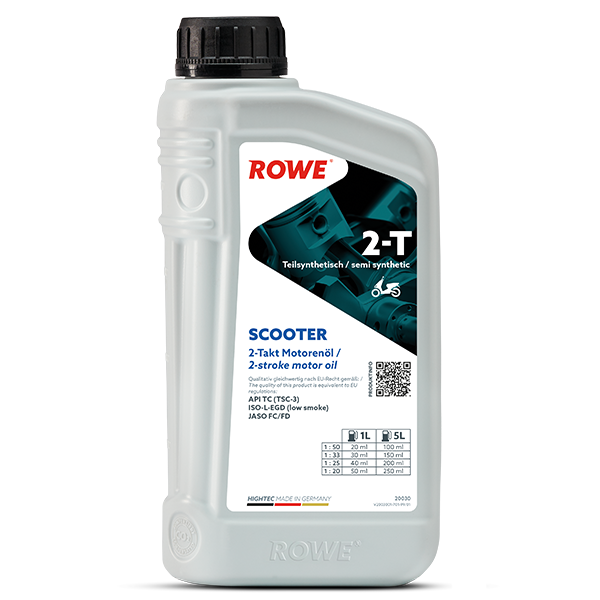 Rowe Hightec 2-T SCOOTER Zweiradöl, 1l