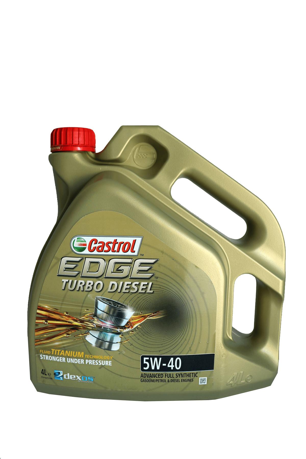 Castrol Edge Turbo Diesel 5W-40 Motoröl, 4l