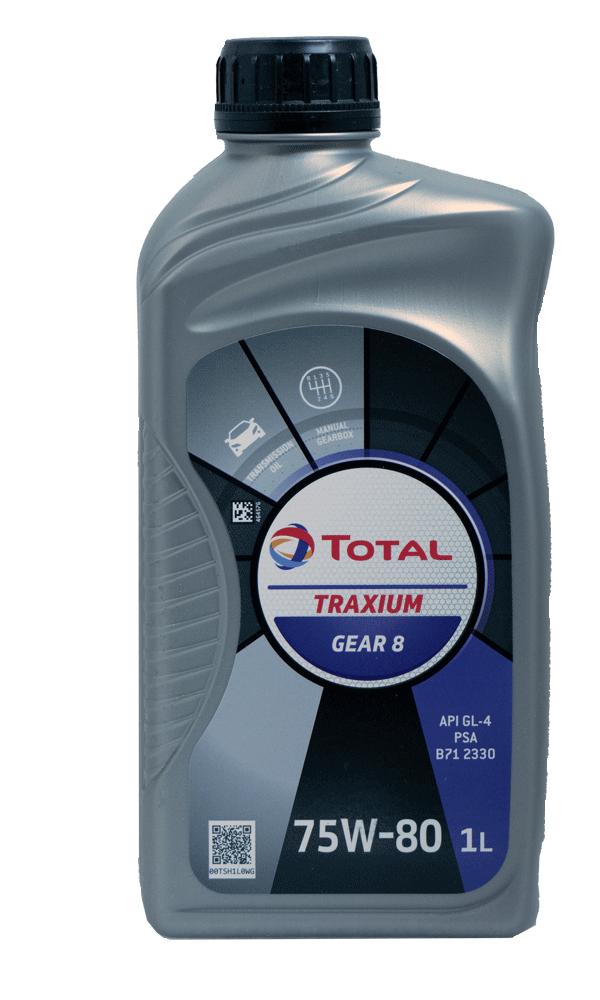 Total Traxium Gear 8 75W-80 Getriebeöl, 1l