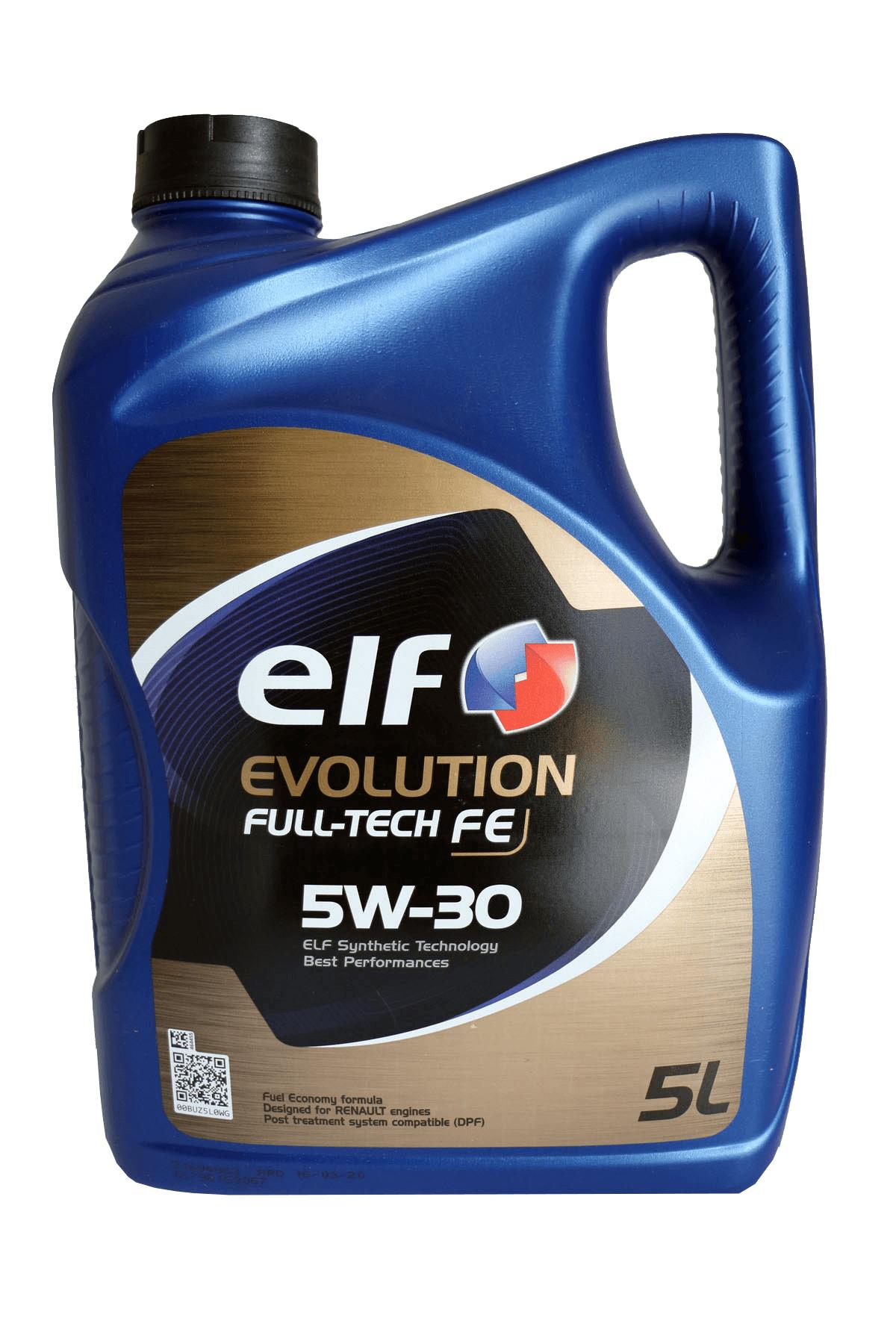 ELF Evolution Full-Tech FE 5W-30 Motoröl, 5l
