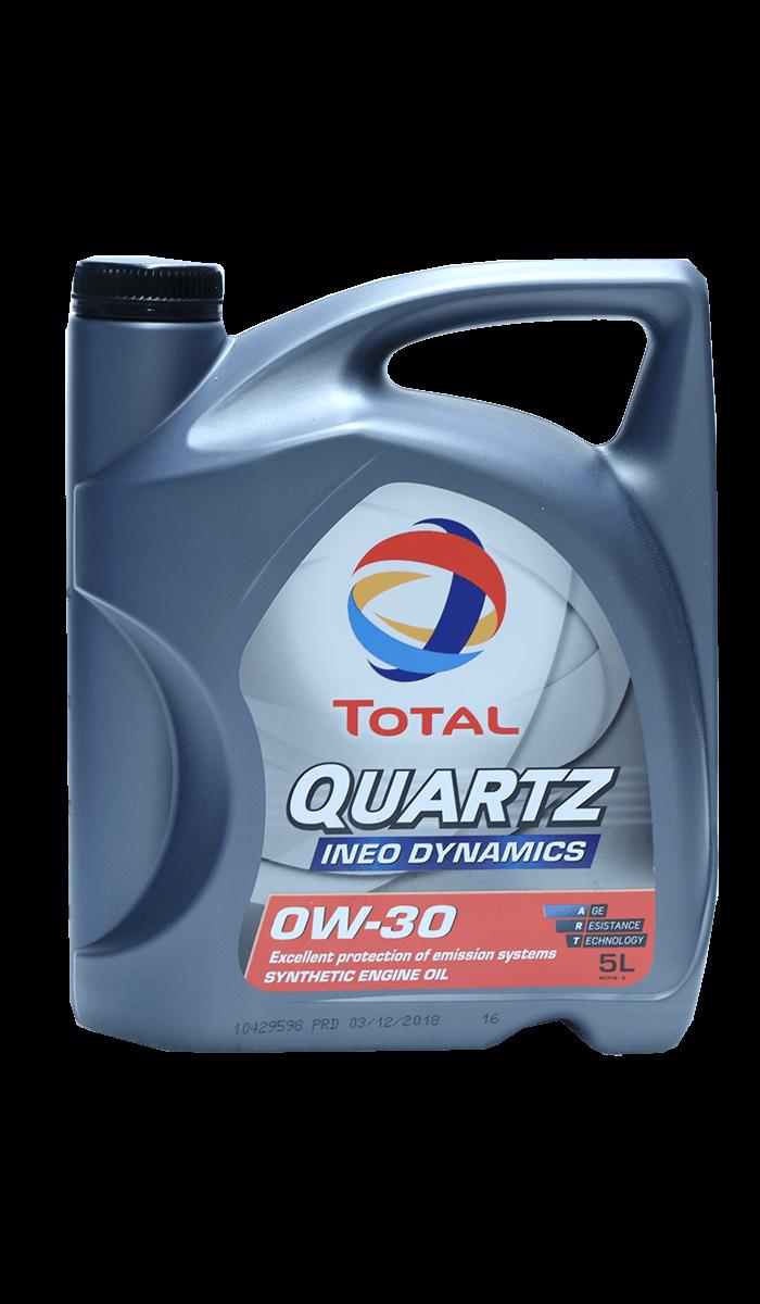 Total Quartz INEO DYNAMICS 0W-30 Motoröl, 5l