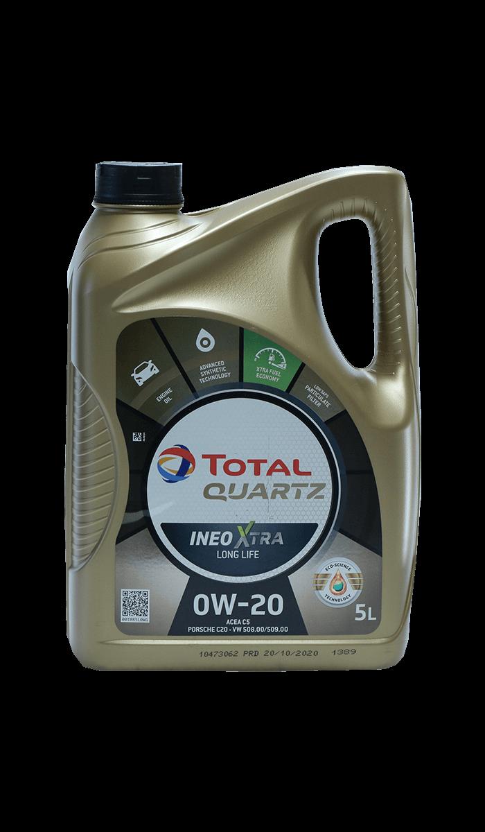 Total Quartz INEO XTRA LONG LIFE 0W-20 Motoröl, 5l