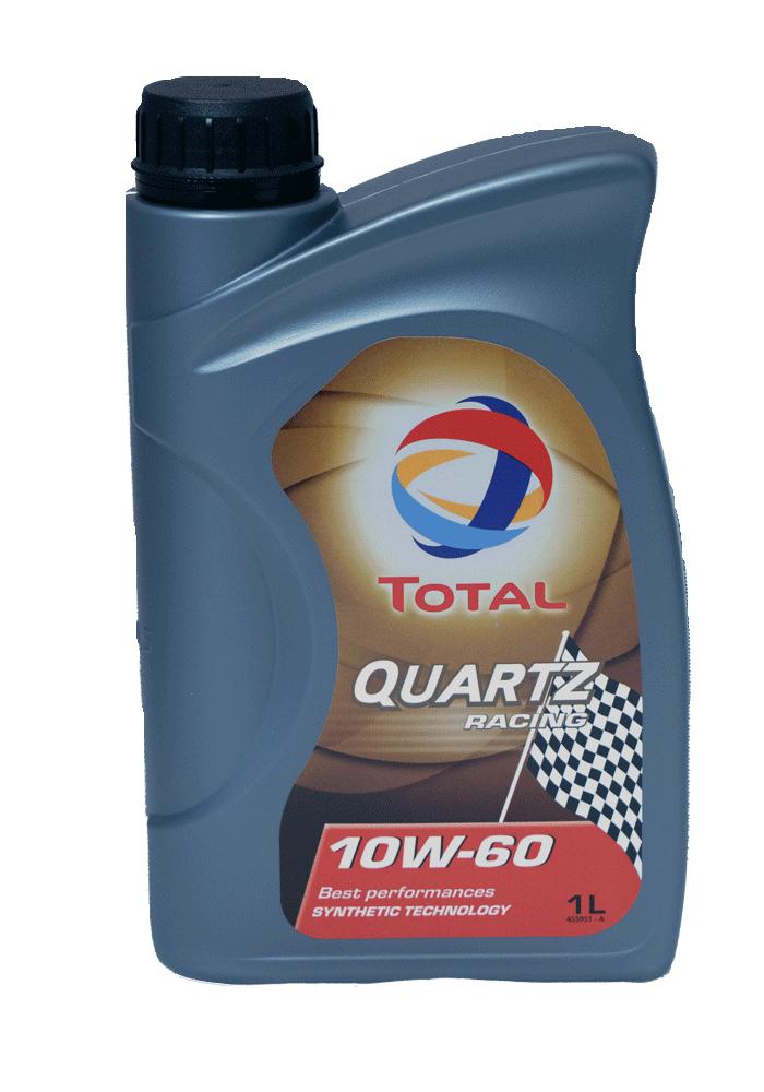 Total Quartz RACING 10W-60 Motoröl, 1l