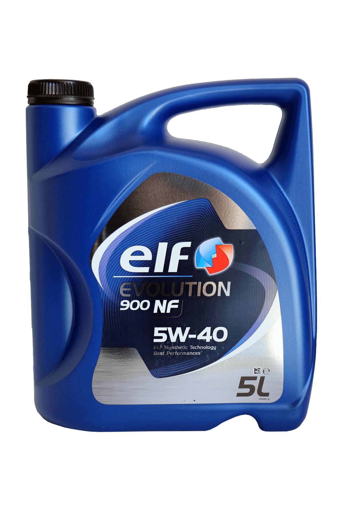 ELF Evolution 900 NF 5W-40 Motoröl, 5l
