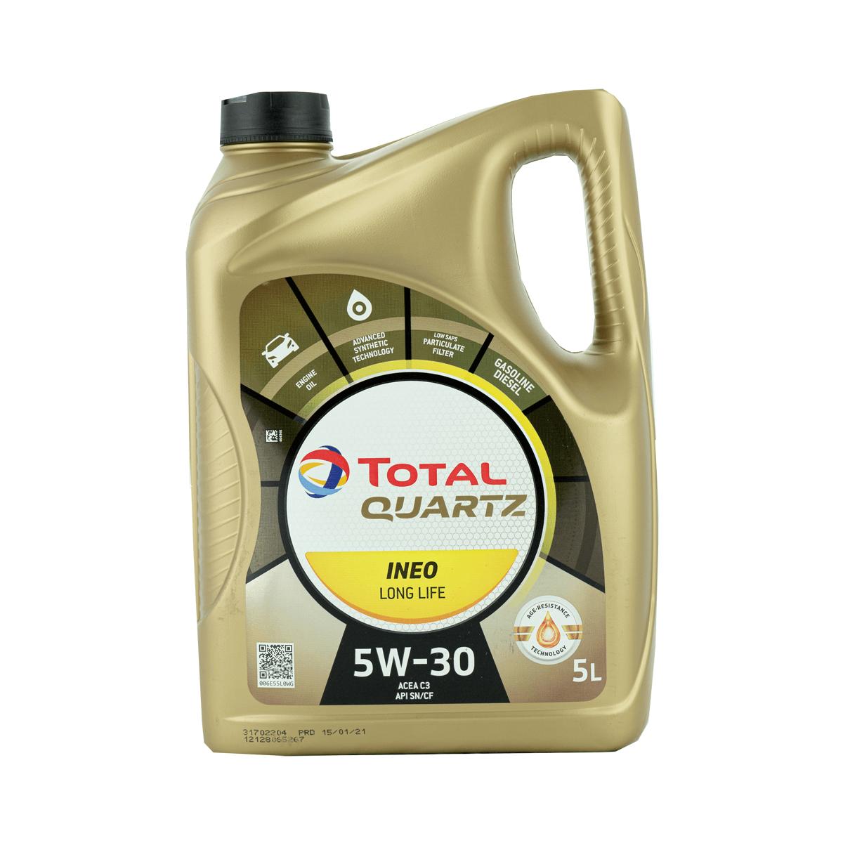 Total Quartz INEO LONG LIFE 5W-30 Motoröl, 5l