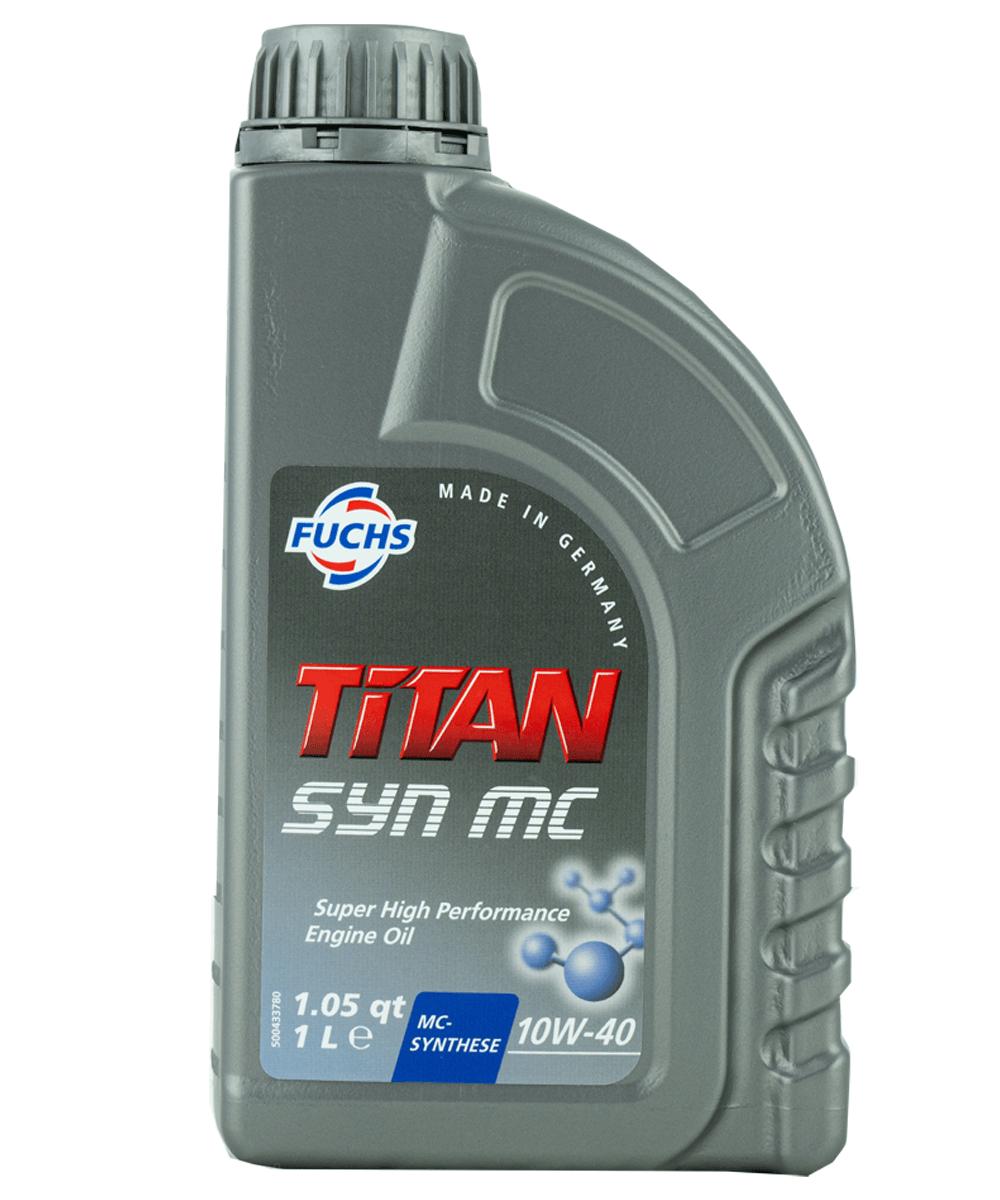 Fuchs TITAN SYN MC 10W-40 Motoröl, 1l
