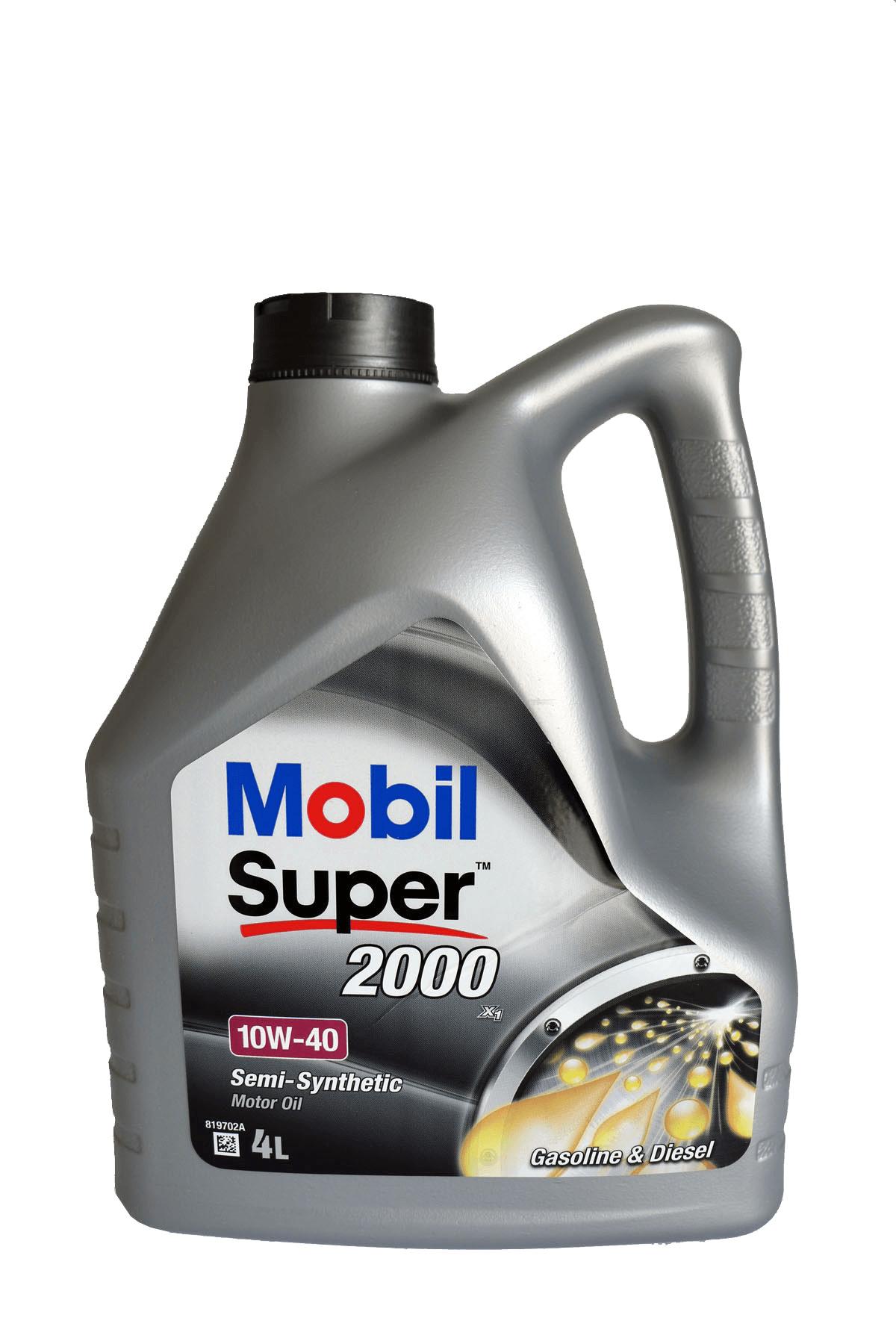 Mobil Super 2000 X1 10W-40 Motoröl, 4l