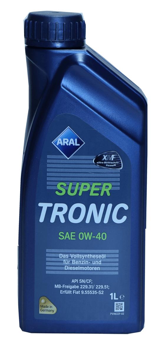 Aral SuperTronic 0W-40 Motoröl, 1l