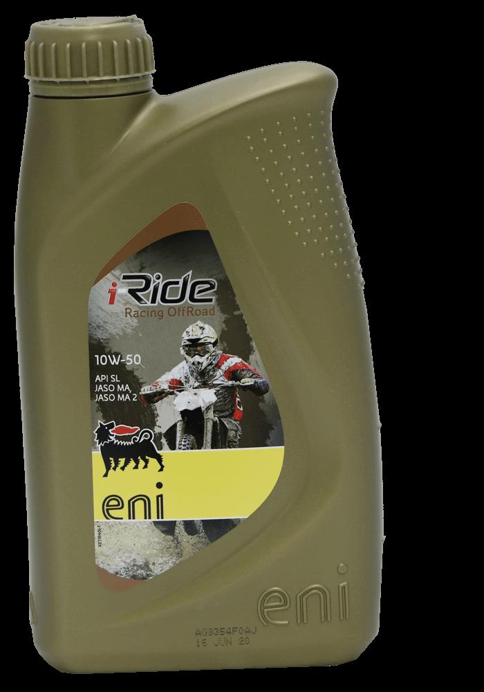 Eni i-Ride racing offroad 10W-50 Motorrad Motoröl 1l