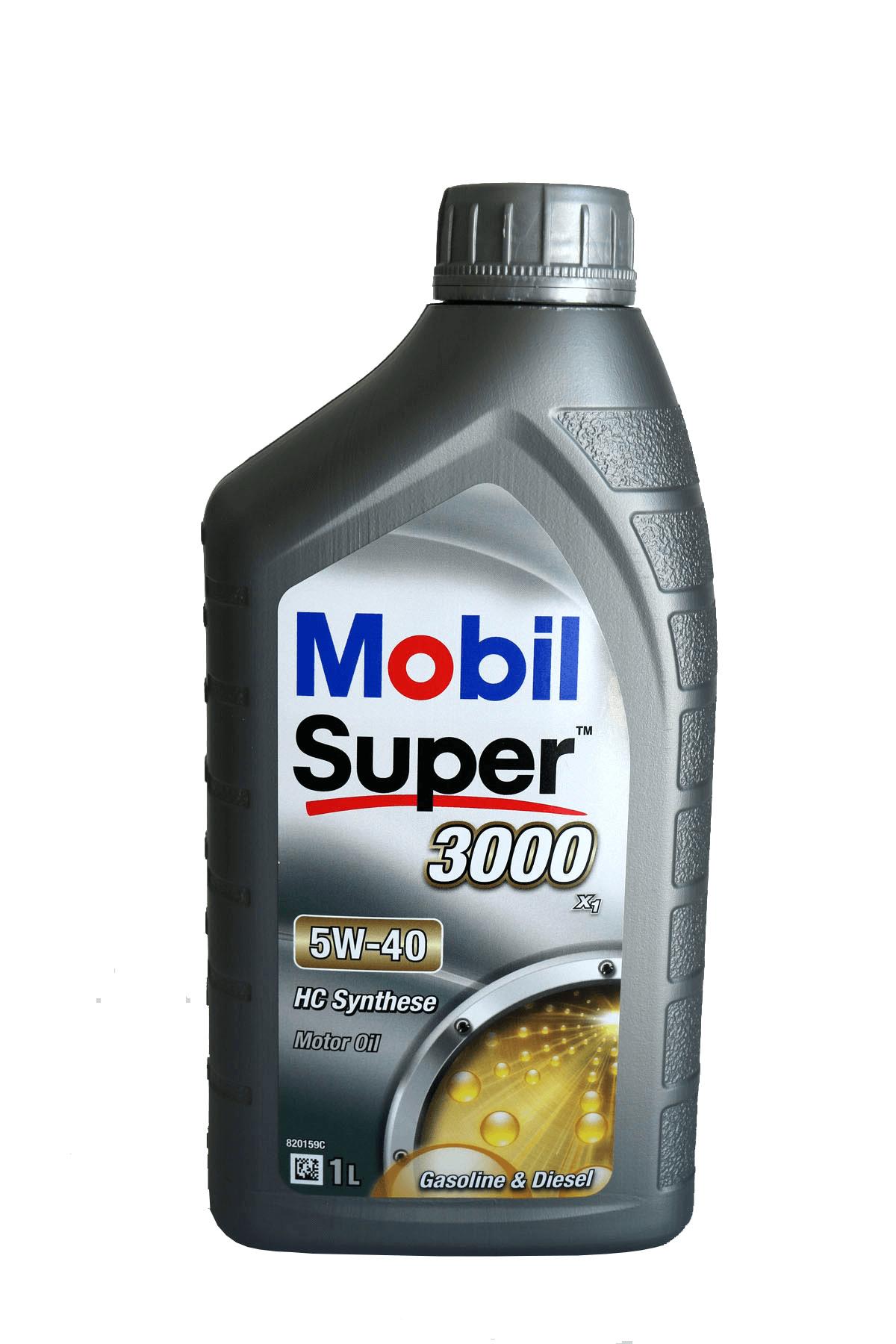 Mobil Super 3000 X1 5W-40 Motoröl, 1l
