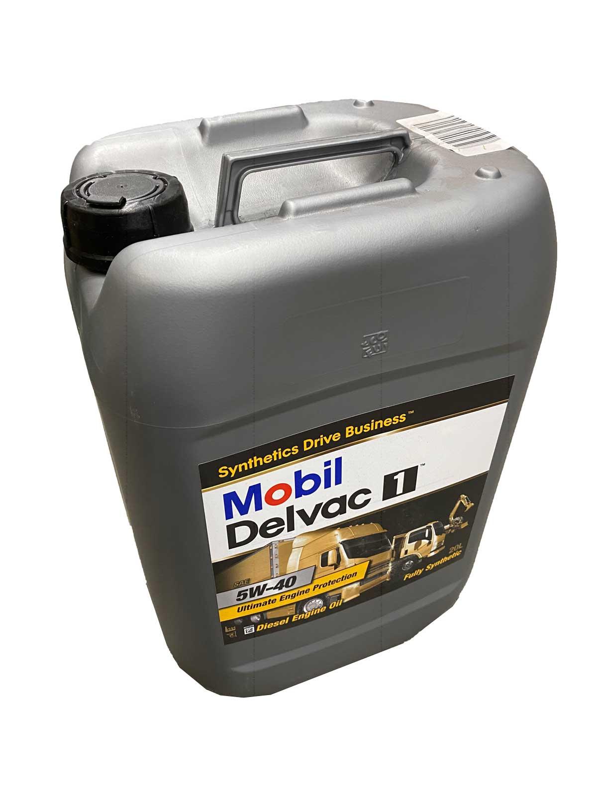 Mobil Delvac 1 5W-40 Getriebeöl 20l