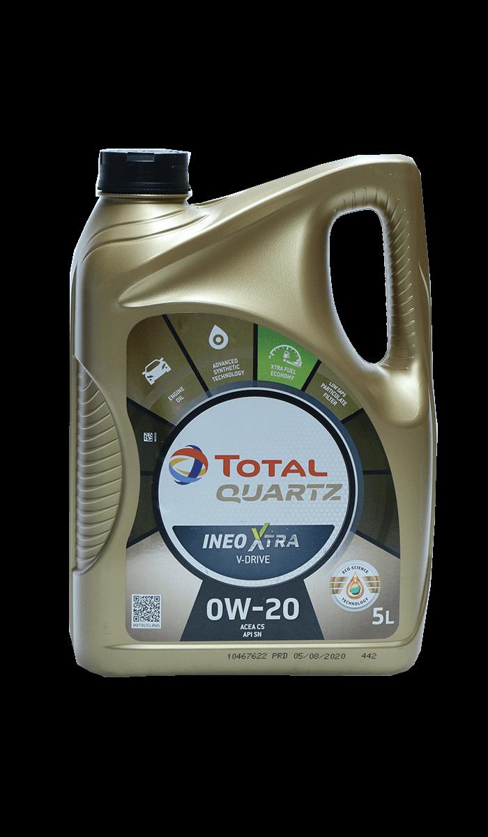 Total Quartz INEO XTRA V-DRIVE 0W-20 Motoröl, 5l