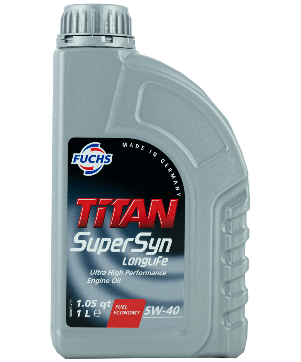 Fuchs TITAN SUPERSYN LONGLIFE 5W-40 Motoröl, 1l