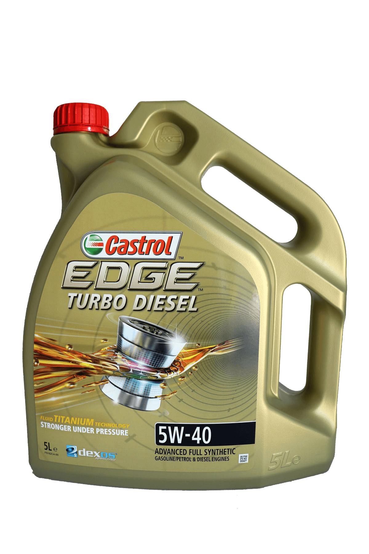 Castrol Edge Turbo Diesel 5W-40 Motoröl, 5l