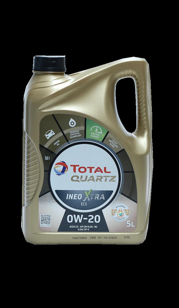 Total Quartz INEO XTRA EC5 0W-20 Motoröl, 5l
