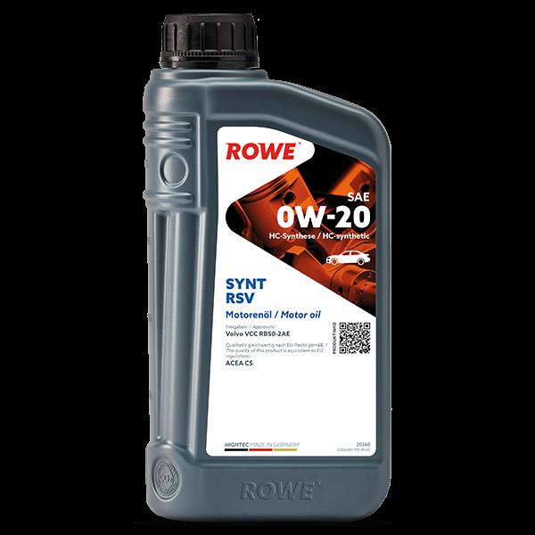 Rowe Hightec Synt RSV SAE 0W-20 Motoröl, 1l