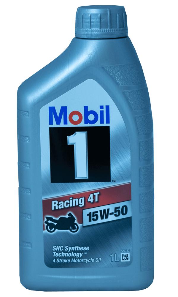 Mobil 1 Racing 4T 15W-50 Motorrad Motoröl 1l