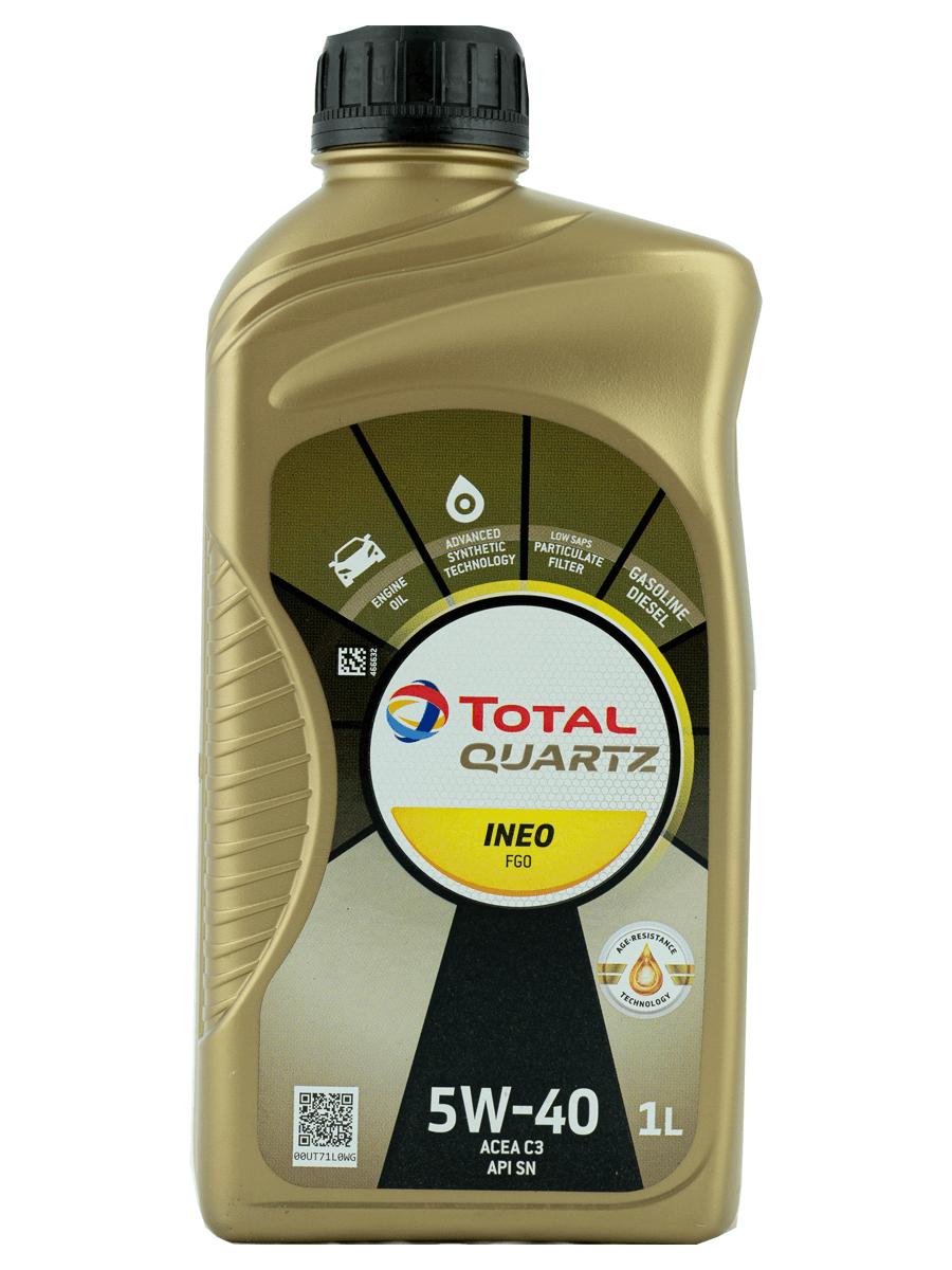 Total Quartz INEO FGO 5W-40 Motoröl, 1l