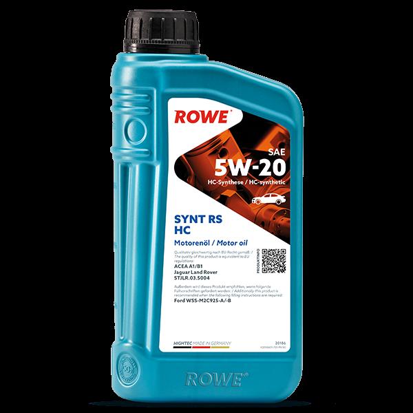 Rowe Hightec Synt RS HC SAE 5W-20 Motoröl, 1l